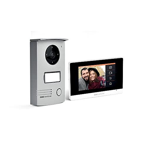 Extel – Visiophone Connect – avec Grand Écran (18cm) et Connecté à votre Smartphone Android ou Apple