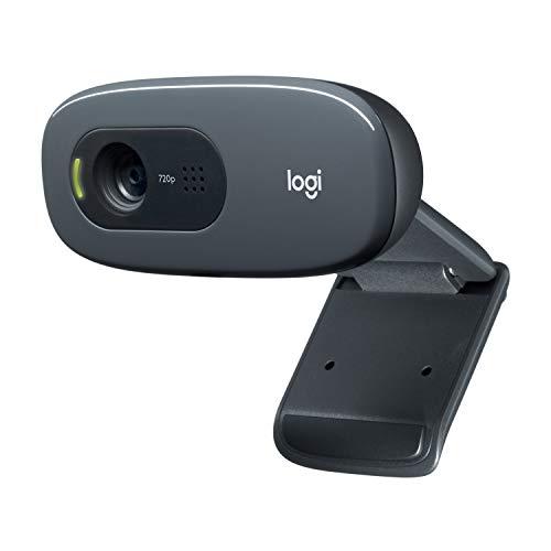 AUKEY Webcam 1080P Full HD avec Microphone Stéréo, Caméra Web pour Chat Vidéo et Enregistrement, Compatible avec Windows, Mac et Android